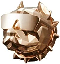 DE:BULL Car Interior Vent Clip Air Freshener Odor Neutralizing Scent, Rose Gold + White Rose Perfume