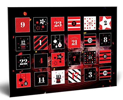Madus-Magic Zauber Adventskalender: 24 verblüffende Zaubertricks für Kinder ab 10 und Erwachsene | Identische Tricks wie 2018