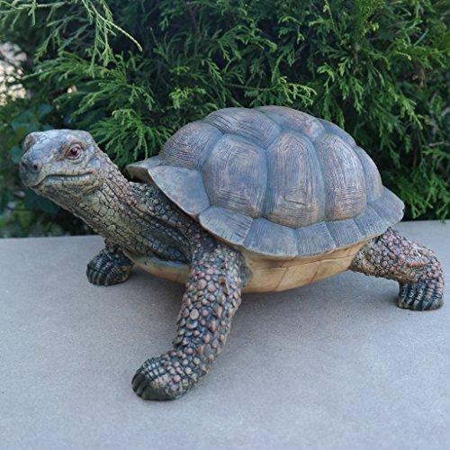 Dekofigur Schildkröte Tierfigur Gartenfigur wetterfest