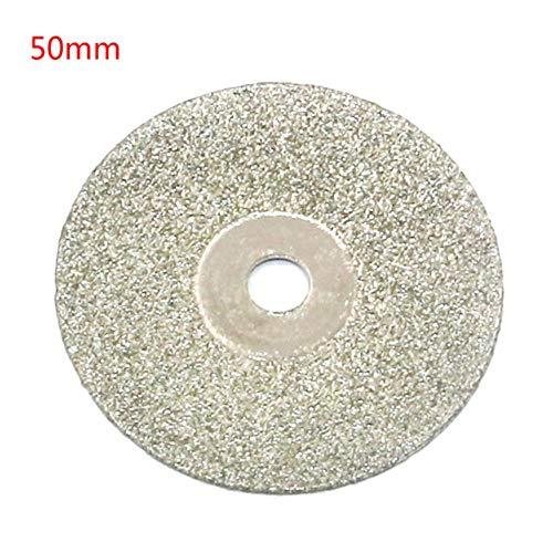 Discos de corte de diamante de 20-50 mm y mini sierra circular para herramienta rotativa Dremel Stone Blade, 50 mm