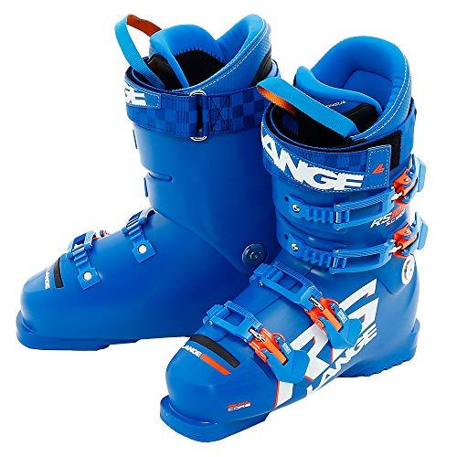 Lange skischoenen RS 100 S.c. Brede kinderblauw.