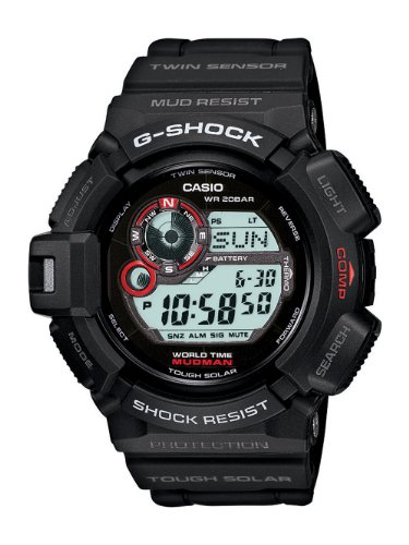Casio Men's G9300-1 Mudman G-Shock Shock...