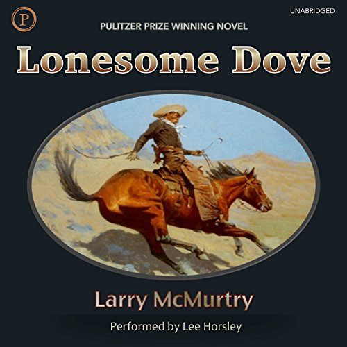 Lonesome Dove audiobook cover art