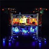 LODIY - Kit di luci LED per Lego 75810 Stranger Things The Upside Down (modello Lego non incluso)