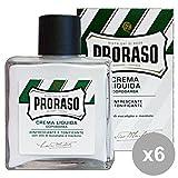 Set 6 PRORaso D-Barba Crema Liquido RINFR-TONIF.100 Ml. Profumi