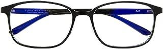 ウェリントン型PCめがね Zoff PC CLEAR PACK (ブルーライト50%カット) ゾフ PCメガネ 眼鏡 めがね 黒縁 ダテメガネ メンズ 男性用 レディース 女性用 プラスチック