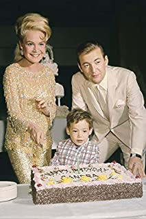 Bobby Darin and Sandra Dee Birthday Party with Cake 18x24 Poster