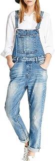 LISUEYNE Pantalón vaquero para mujer, corte ajustado, color azul, elegante, informal, vaquero