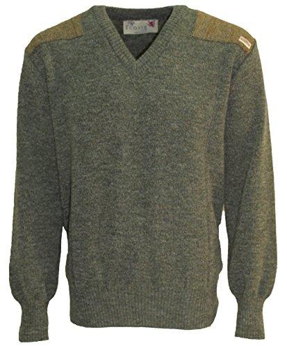 Niffi Ecosse - Pull - Homme Vert Vert - Vert - Large