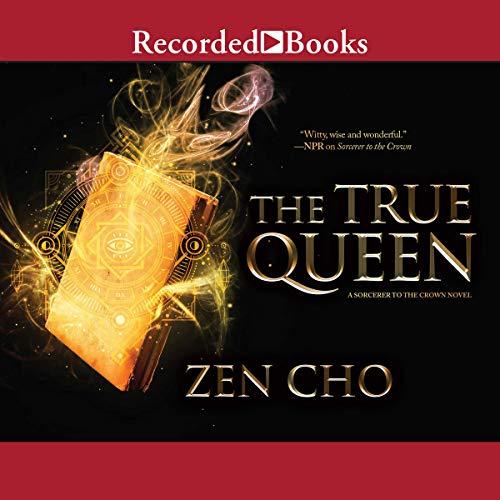 The True Queen audiobook cover art