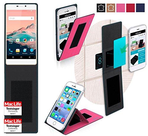 reboon Hülle für Allview X2 Soul Pro Tasche Cover Case Bumper | Pink | Testsieger