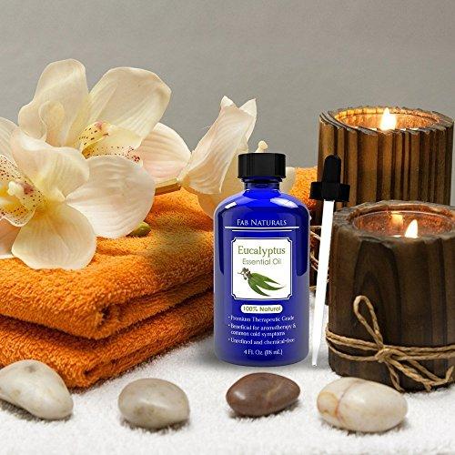 Fab Naturals Essential Oil Eucalyptus Scent