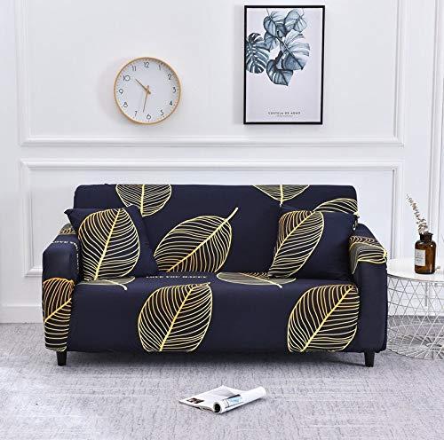 WXQY Funda de sofá elástica Flexible para Sala de Estar, Funda de sofá Universal, Funda Protectora para sillón de Muebles en Forma de L A11 3 plazas