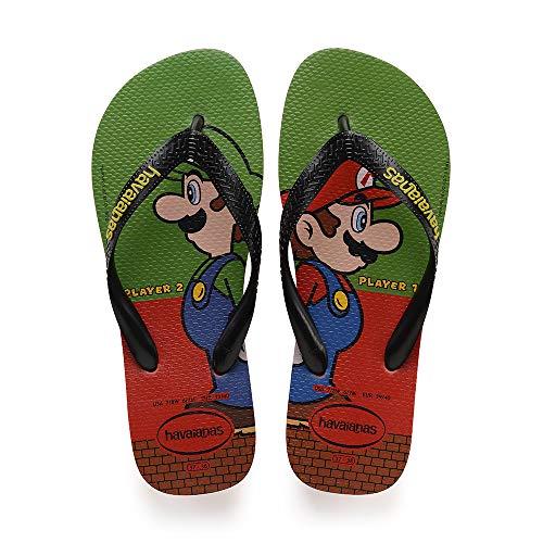 Havaianas Mario Bros, Infradito Unisex Adulto, (Strawberry 2162), 39/40 EU