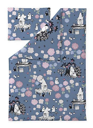 Moomin Bettbezug Kopfkissenbezug Moominmamma Dream 85x125cm 40x60cm Finlayson