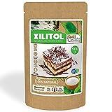 DULCILIGHT Xilitol Edulcorante 100% Natural 500 gr Origen de Abedul de Finlandia Sustituto del Azúcar en cocina y Repostería