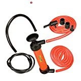 DYNATEX Syphon Pump Oil Fuel Petrol Diesel Hand Sifon Water Siphon Transfer Kit Inflator TL/1110D
