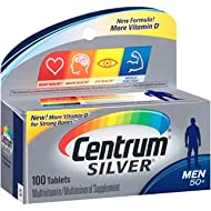 Centrum Silver Men (100 Count) Multivitamin/Multimineral (Pack of 8)