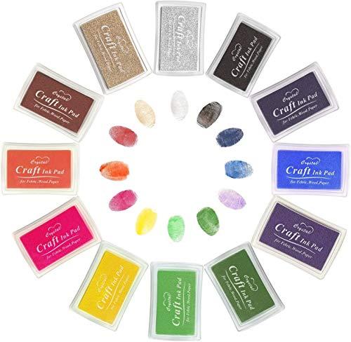 Stempelkissen mit 12 Farben