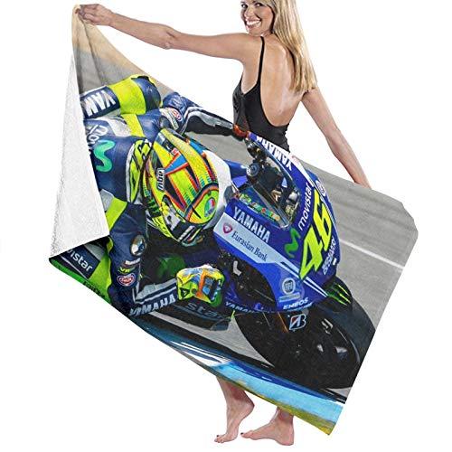 Valentino Rossi Toallas de playa ultra absorbentes de microfibra toalla de baño picnic Mat para hombres mujeres niños