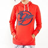 GRIMEY Sudadera Chica Classic Long Hoodie Girl FW14 Red L
