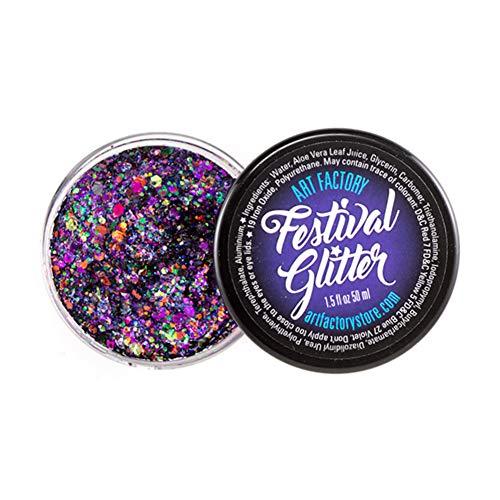 Festival de Arte de fábrica del brillo - traviesa (50 ml / 1 onzas líquidas), cosmética del gel del brillo