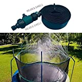 Trampoline Sprinkler, Misting Outdoor Cooling System, Outdoor Water Play Sprinklers Water Park Summer