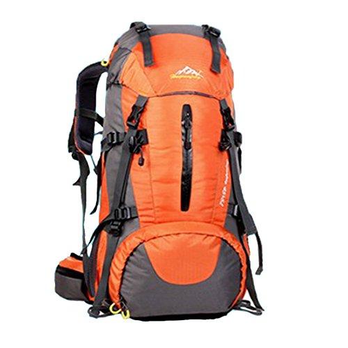 Koola Outdoors Femmes Hommes Professionnel Camping Randonnée Escalade Voyage d'équipe Sac à dos Sac de sport Imperméable Capacité Max-50L