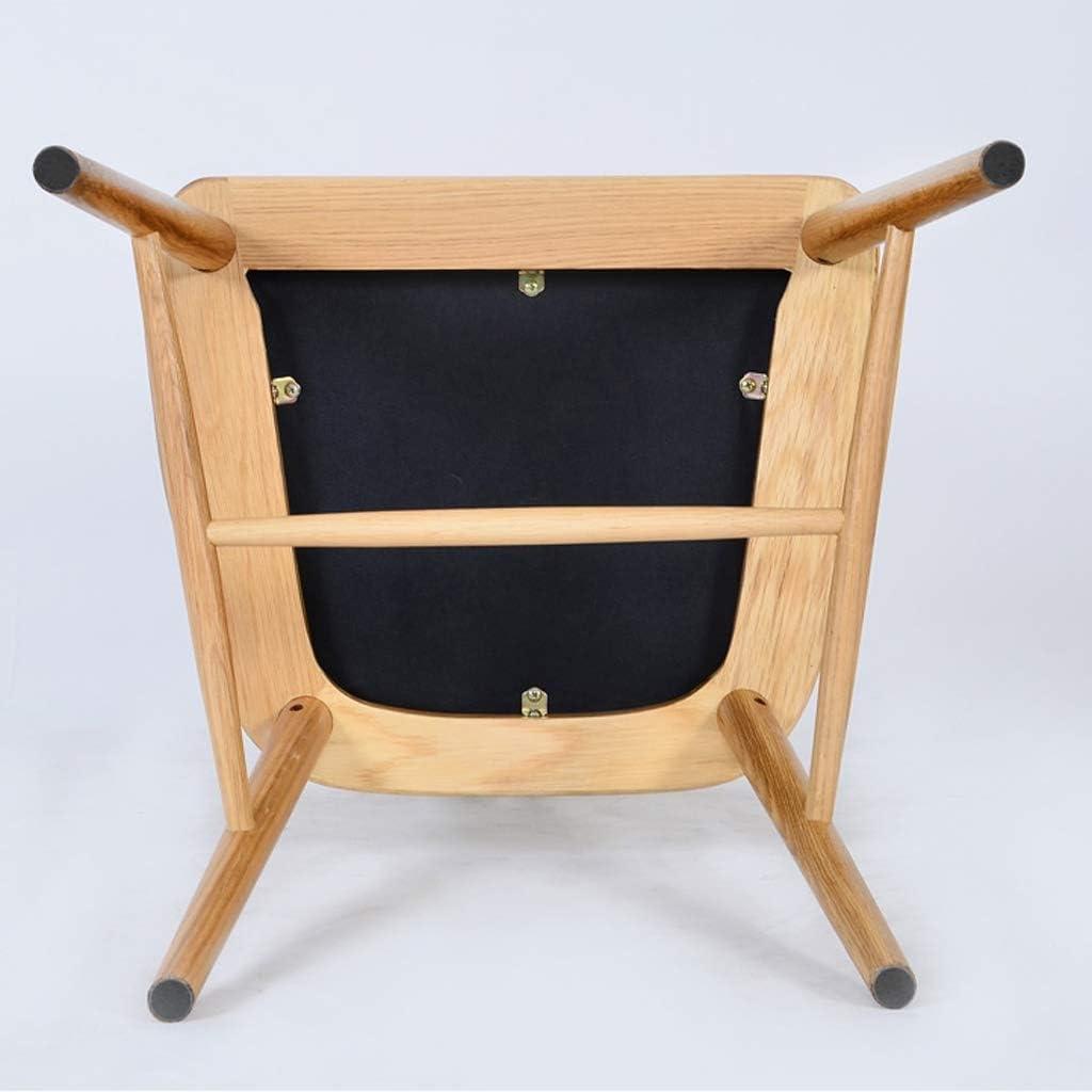 LF Chaise de Salle, Chaise de Bureau Simple, créative Dossier, Chaise Loisirs, Maison Adulte Chaise de Salle Simple (Color : Black-A) Black-b