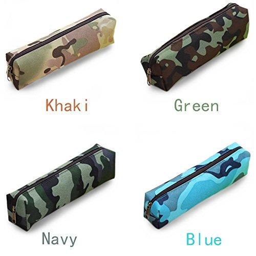 Aipark Chouette Trousse Pen Box Cosmétique Sacs de voyage Sac de maquillage Sacs de rangement bleu marine