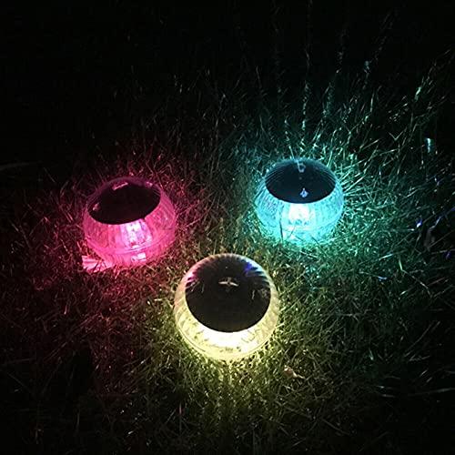 Topwor Solar schwimmende Poolleuchten, Poolbeleuchtung Solarlampe LED Wasserdichter Pool Licht Unterwasser Farbwechsel RGB Ball Lampe für Garten, Baum, Teich Schwimmbad(2 stücke)