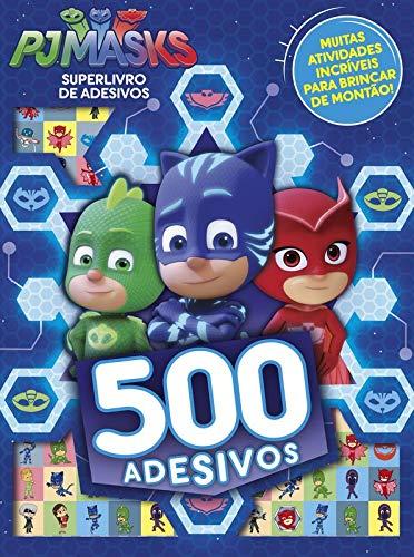 Pj Masks: Superlivro de Adesivos - 500 Adesivos