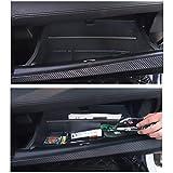 YEE PIN Glove Box Organizers: Car Glove Compartment Box Organizer Armrest Box Interval Storage Insert Glovebox Divider Fit for Civic 2016-2020 Glovebox Interior Accessories
