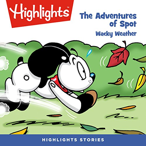 The Adventures of Spot: Wacky Weather copertina