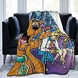 Scōoby Dōo Blanket - Anime Blankets Cartoon Characters Soft Plush Fleece Throw...