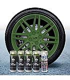 Pack Llantas Vinilo LIQUIDO Full Dip 4 Sprays Verde Militar con Proteccion Mate