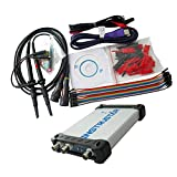 H HILABEE Analizador De Espectro De 20 MHz Con Osciloscopio Virtual USB Basado En PC ISDS205X