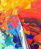 Mont Marte Acrylfarben-Set 24Farben 36ml, perfekt für Leinwand, Holz, Stoff, Leder, Karton, Papier, MDF und Basteln - 4
