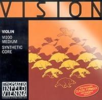 CUERDAS VIOLIN - Thomastik (Vision/VI100) (Juego Completo) Medium Violin 4/4