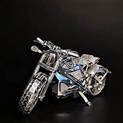 Motorrad Collection Level Puzzle 3D Metall Montage Modell 1:16 2 Blatt Souptoys Kreative Geschenke