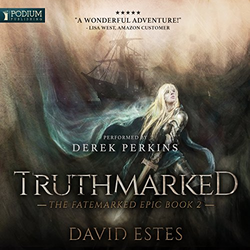 Truthmarked audiobook cover art