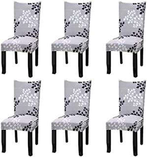Polyester Chair Cover Stretch Removable Washable Short Chair Protector Cover Seat Slipcover For Hotel,dining Room,ceremon...