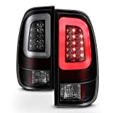 ACANII - For Black Smoke 2008-2016 Ford F250 F350 F450 F550 SD Lumileds LED Tube Tail Lights Lamps Taillights Left Right