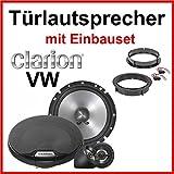 Clarion Kit de montage pour 4 enceintes Compatible Volkswagen Golf