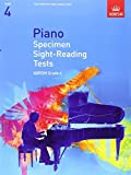Piano Specimen Sight-Reading Tests, Grade 4 (Abrsm Sight-Reading) by ABRSM (2008)...