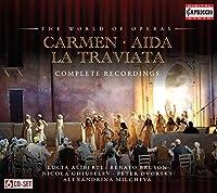 ヴェルディ:椿姫/アイーダ/ビゼー:カルメン オペラBOX (Carmen - Aida - La Traviata)