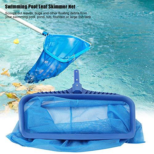 Emoshayoga Poolskimmer Breitkopfnetz Feinmaschiges Netz Mühelos für das Poolreinigungswerkzeug für Schwimmbäder