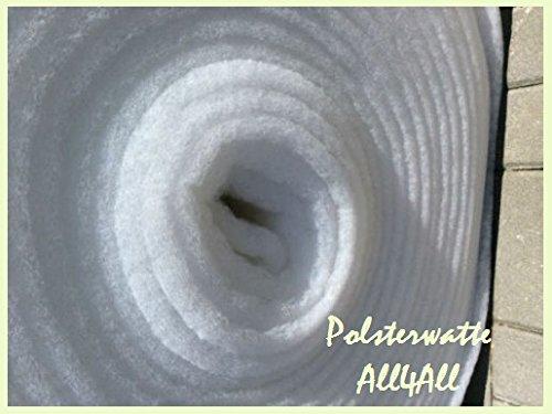 all4all Polsterwatte Vlieswatte Volumenvlies Breit 1,6m 300g Stoffe Zum Nähe Polsterstoff Volumenvlies Wolumenvlies Polster …
