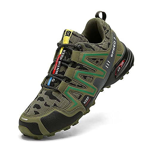 Z-Top Men Trail Hiking Shoes Road Running Comfortable Waliking Shoes Athletic Sports Shoes for Trekking Climbing