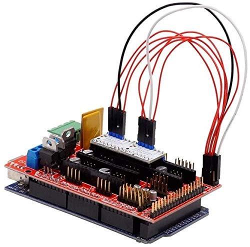 Nuevo Durable 1pc TMC2130 V1.1 Cable de conexión Protoboard Cables de puente Hembra FF 2.54mm para Dupont Cable Line 3D Nuevas piezas de impresora (Tamaño: 20cm 1pin 1pin), Nombre del tamaño: 20cm 1pi